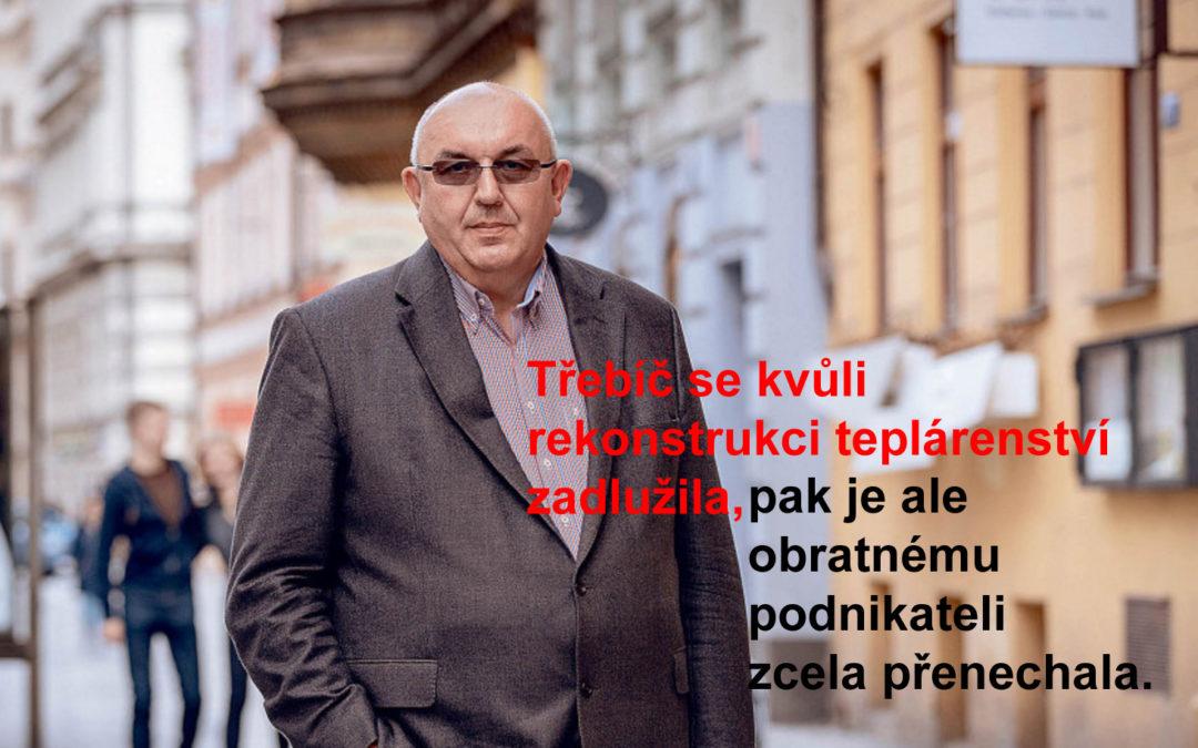 Třebíčský král biomasy Richard Horký vyrostl na úzkých vazbách s městem