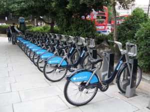Systém bike-sharing