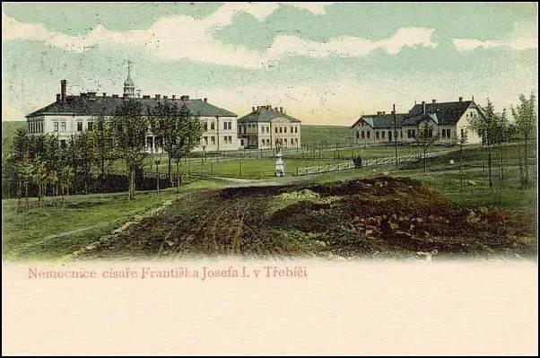 Třebíčská nemocnice z počátku 20. století