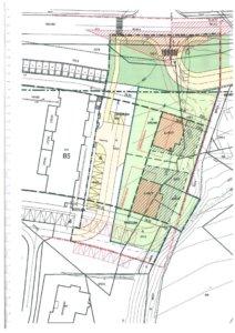Projekt nových parkovacích stání a chodníku na ulici Lavického