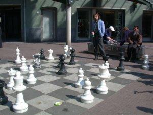 """Pražské """"šachy na ulici"""""""