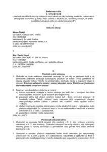 thumbnail of Smlouva o dílo Třebíč Obchvat 2018_upr