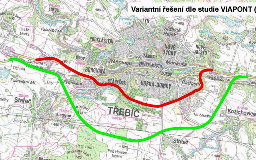 Proč nesouhlasím s trasou obchvatu, kterou navrhuje radnice