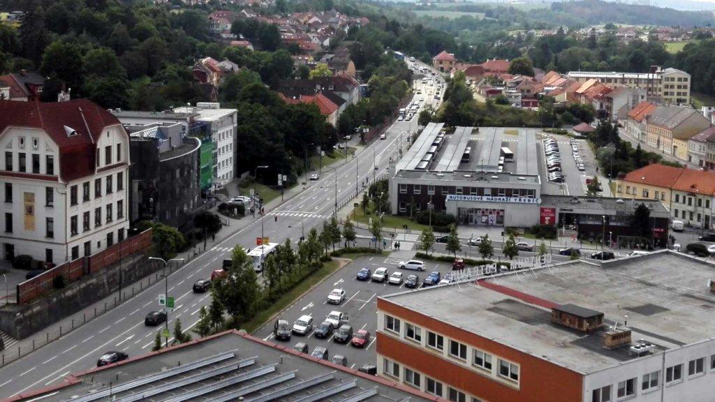Komenského náměstí Třebíč