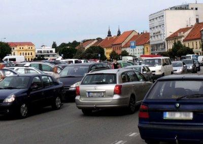 Třebíč město aut