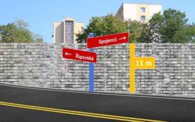 Obchvat Třebíče – průchvat rozdělí Borovinu 11 m vysokou protihlukovou zdí