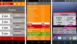 Aplikace zaměřené na MHD