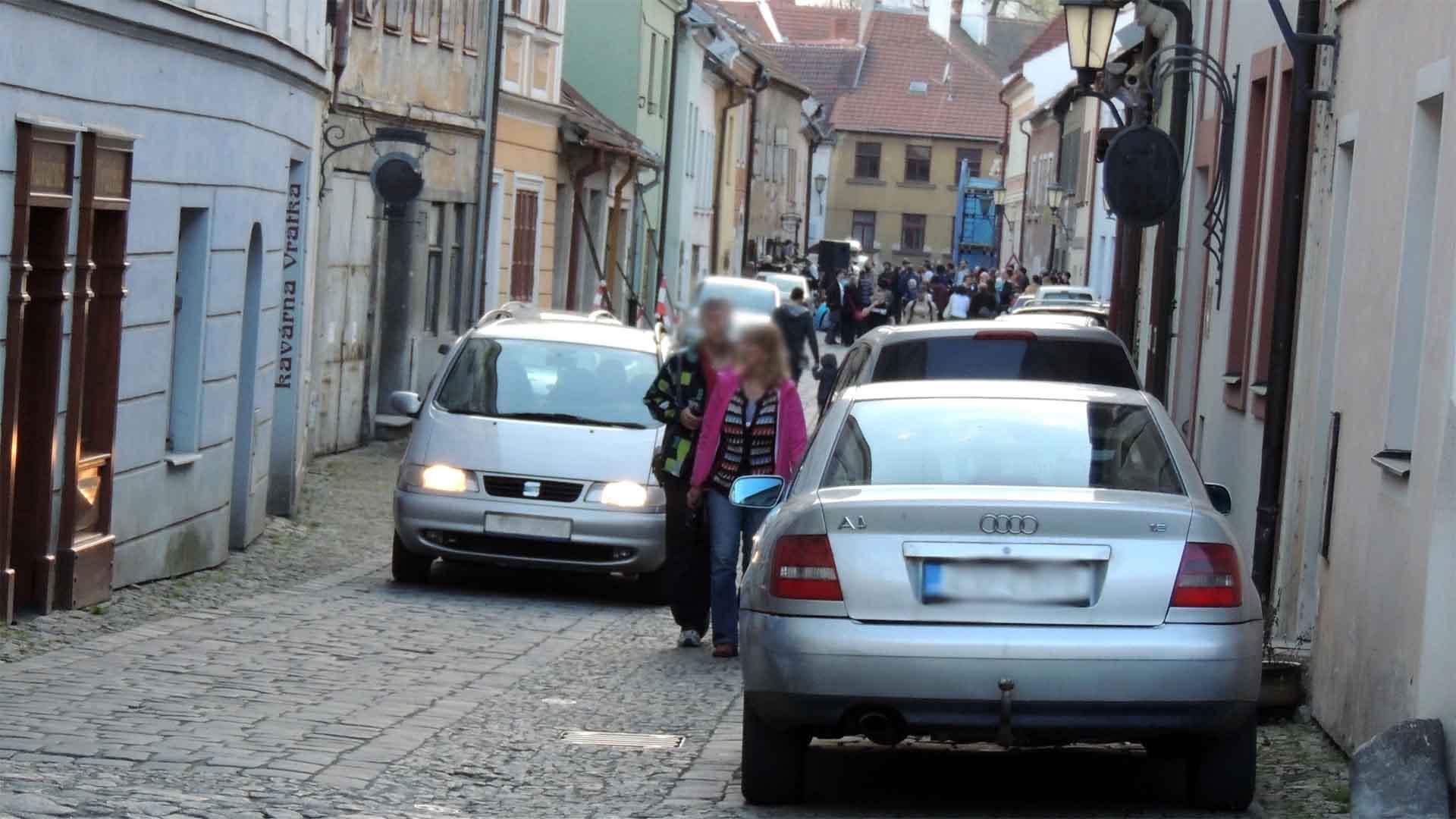 Třebíč ulice L. Pokorného