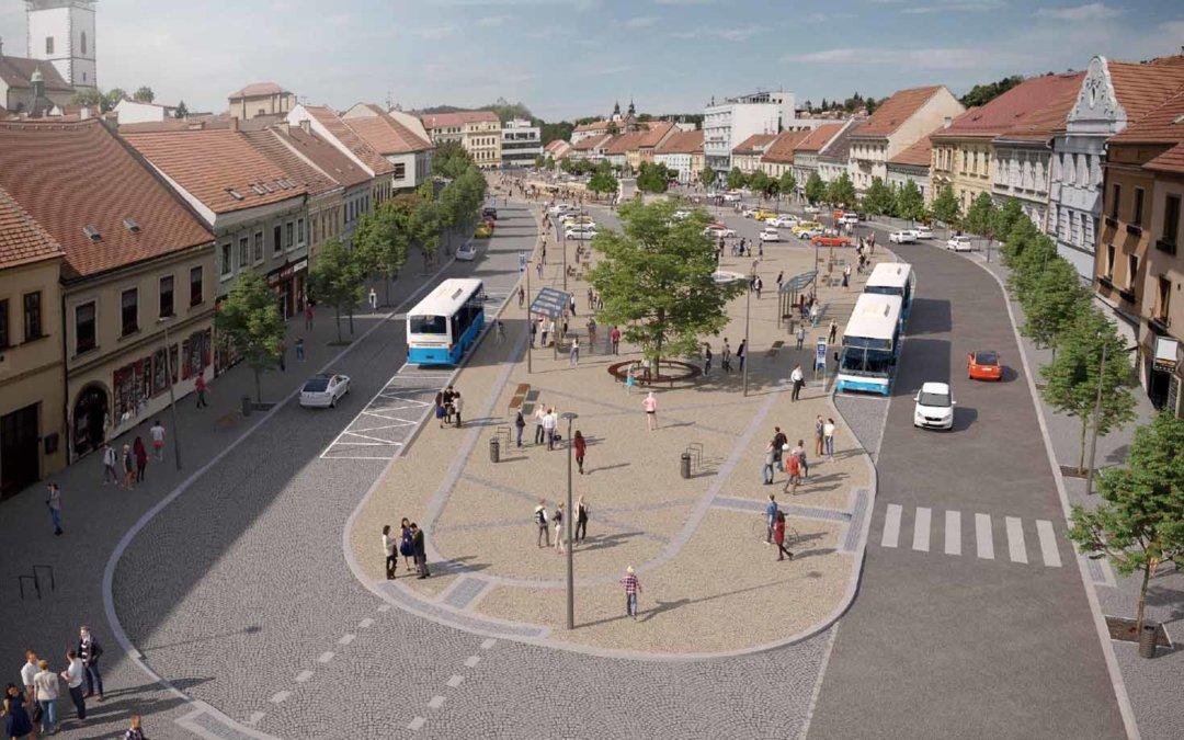 Třebíčské zastupitelstvo bude projednávat revitalizaci Karlova náměstí
