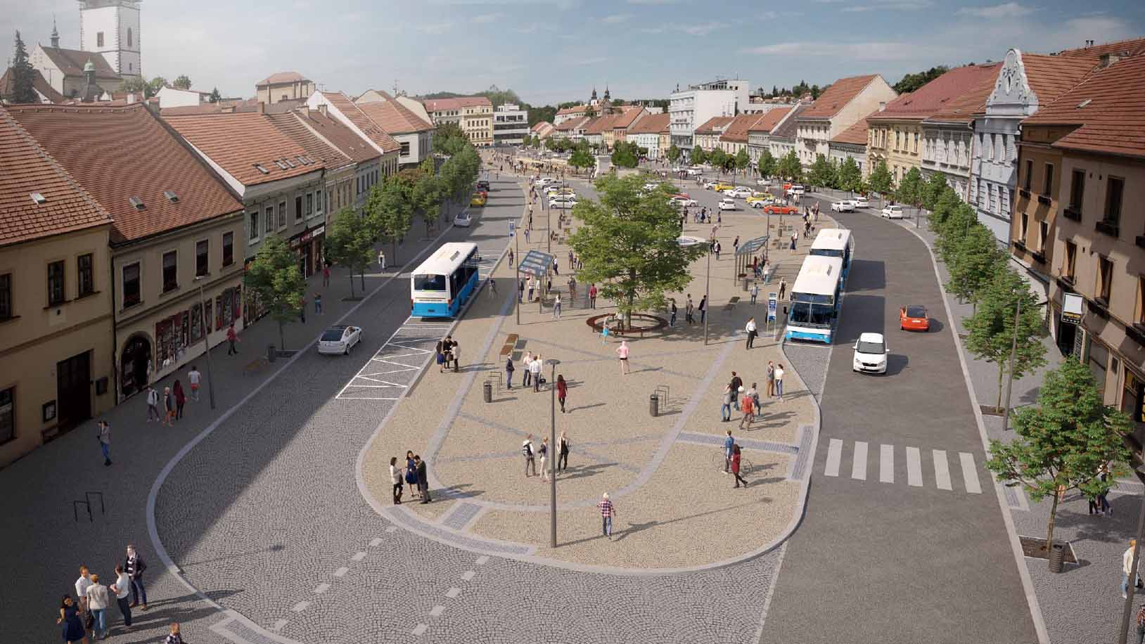 Revitalizace Karlova náměstí - východní část