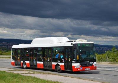 Ekologický autobus na CNG