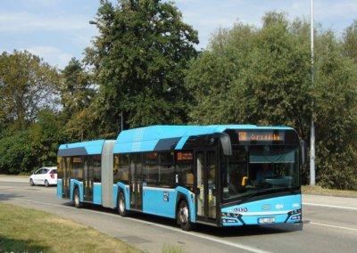Autobus na CNG pořízený z fondů EU