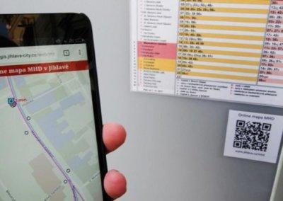 Mobilní aplikace pro MHD