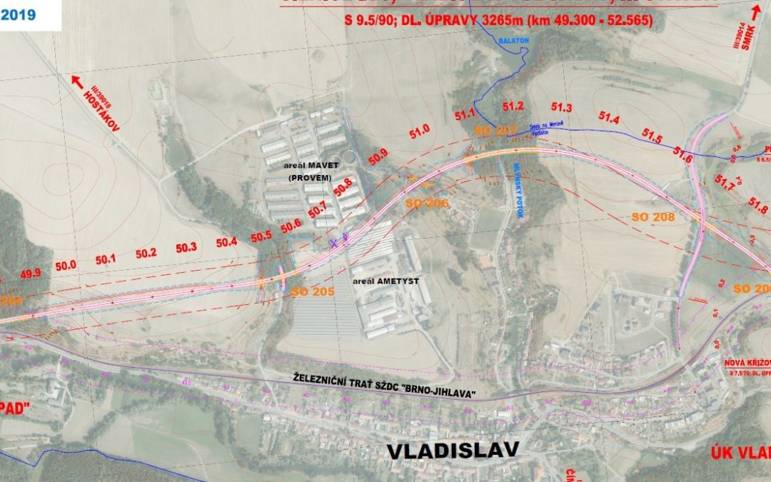 Obchvat Vladislavi má konečně naději, čísla vycházejí