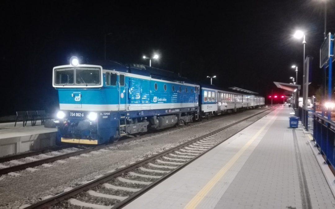 Petice za obnovení večerního vlaku z Brna do Třebíče