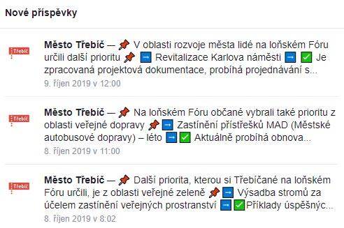 FB Zdravé město Třebíč