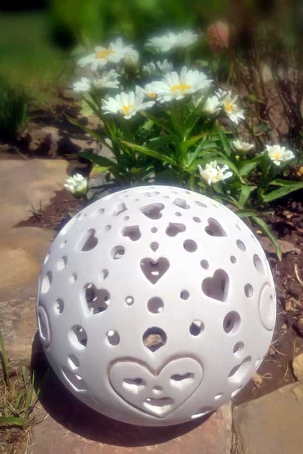 ...nebo krásnou lampičku na zahradu