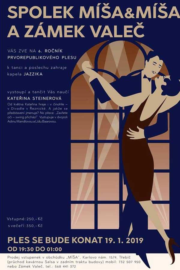 Prvorepublikový ples ve Valči