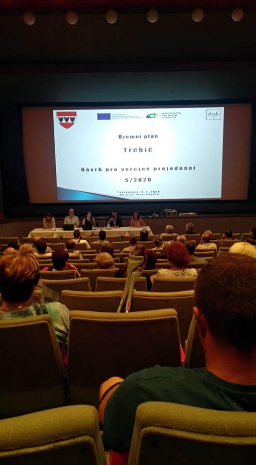 Zahájení veřejného projednávání návrhu územního plánu