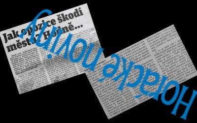 Reakce na dehonestující článek v Horáckých novinách